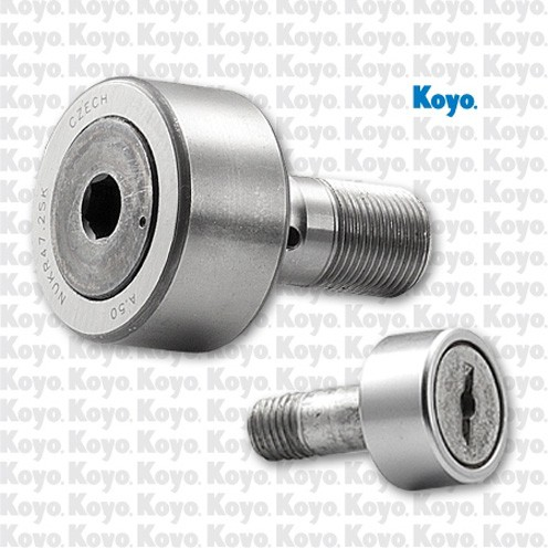 radial static load capacity: Koyo NRB NUTR2562DZ Crowned & Flat Yoke Rollers