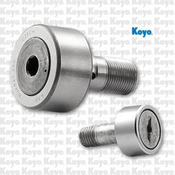 roller diameter: Koyo NRB RSTO8DZ Crowned & Flat Yoke Rollers