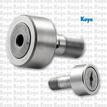 bore diameter: Koyo NRB NATR10DZ Crowned & Flat Yoke Rollers