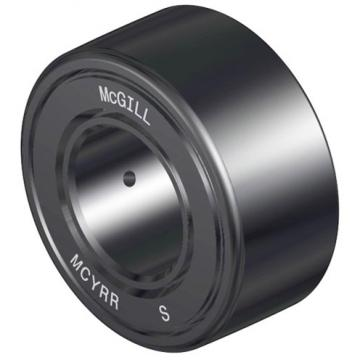 overall width: McGill MCYRR 17 S Crowned & Flat Yoke Rollers