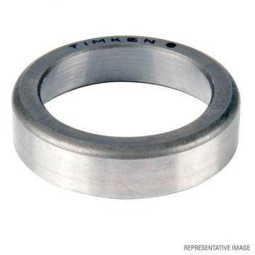 cup width: Timken 02420 #3 PREC Tapered Roller Bearing Cups