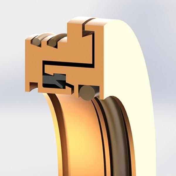 lip material: Garlock 29602-8593 Bearing Isolators #1 image